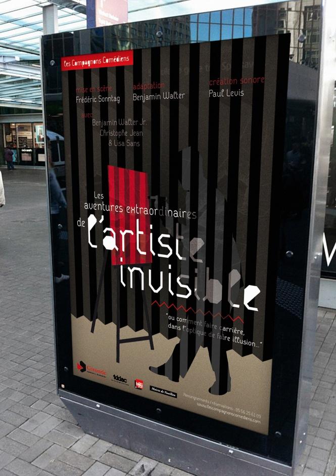 L'artiste invisible 3D