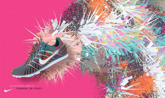 Nike Spikes Behance