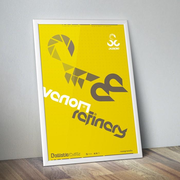 Poster Scorpio venom MockUp SD