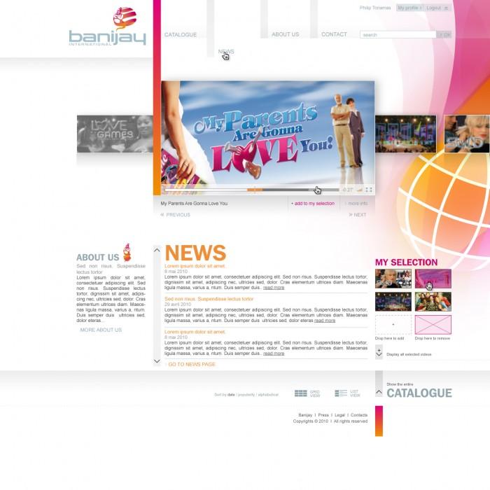 Banijay site DEF catalogue OFF