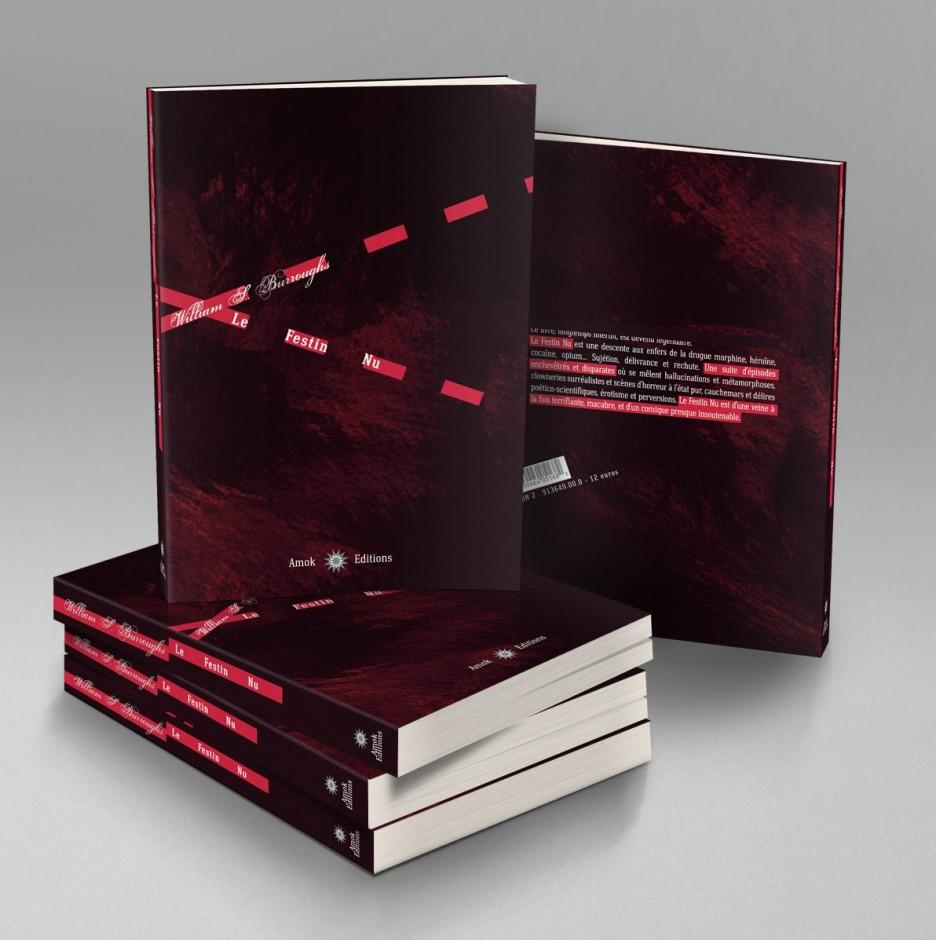 Festin Nu book cover Burroughs